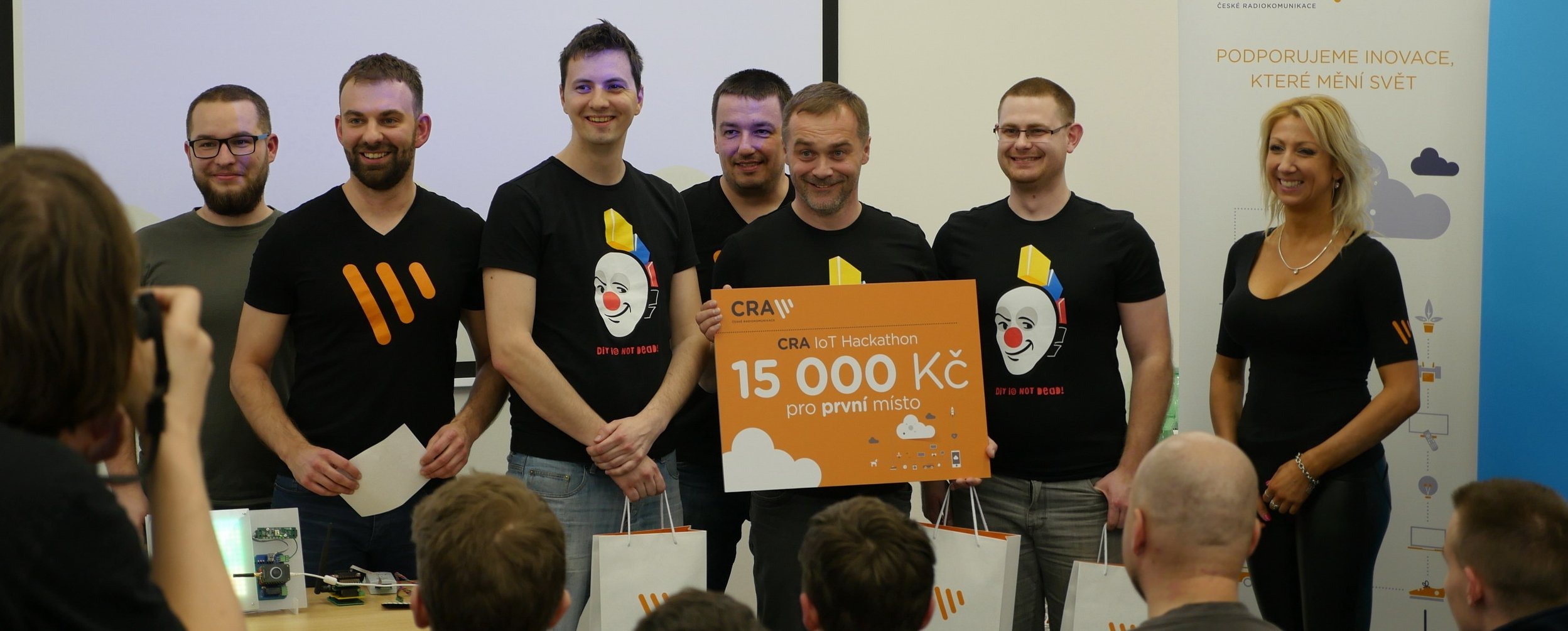 BigClown Took First Place In LoRa Hackathon